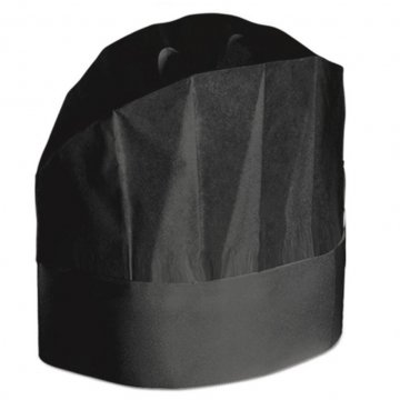 CAPPELLO GRAND CHEF NERO MONOUSO PZ 20